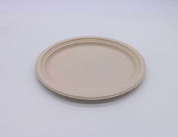 本色餐盘,椭圆盘