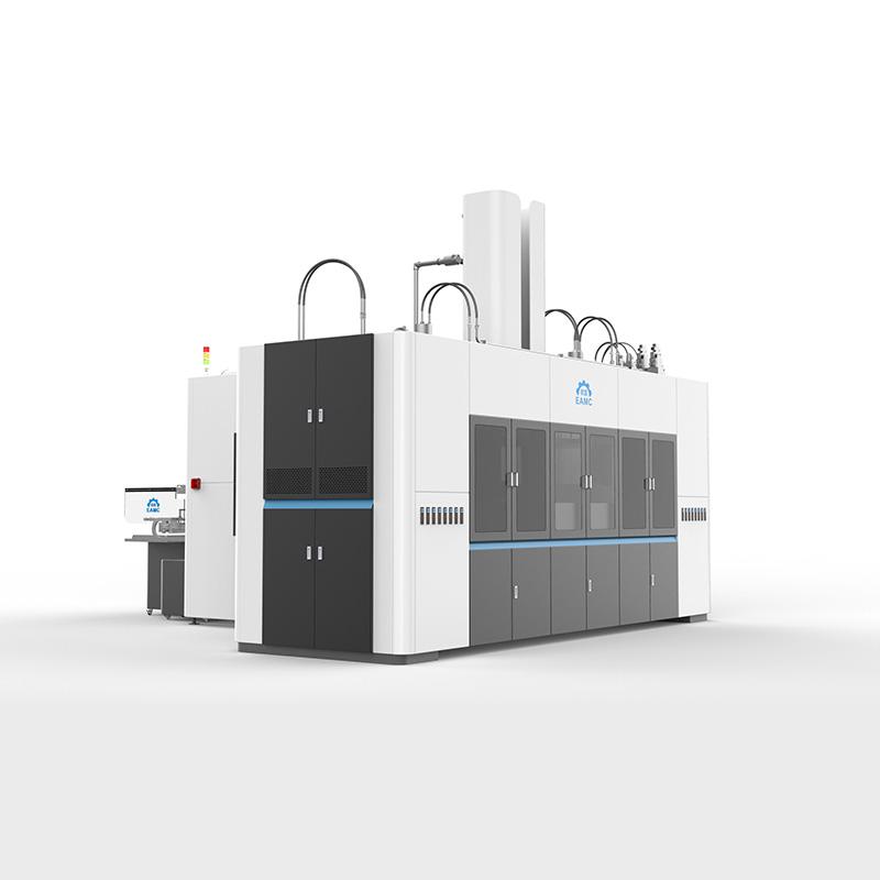 全自动纸浆模塑环保杯盖生产线