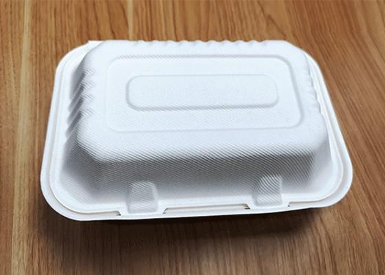 泰国工厂大量现货供应:纸浆模塑餐具;9×6锁盒 型号1