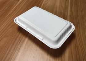 泰国工厂大量现货供应:纸浆模塑餐具;9×6锁盒 型号2